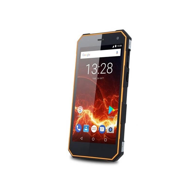 Mobilný telefón myPhone HAMMER ENERGY 3G Dual SIM (TELMYAHENER3GOR) čierny/oranžový Software F-Secure SAFE, 3 zařízení / 6 měsíců (zdarma) + Doprava zadarmo