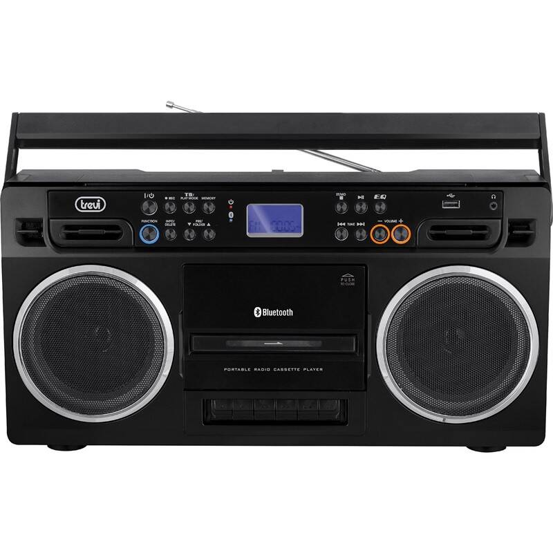 Radiomagnetofon Trevi RR 504 BT černý