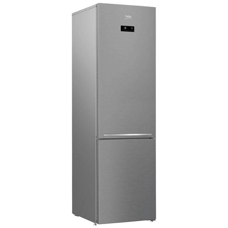 Kombinácia chladničky s mrazničkou Beko RCNA 406 E40ZXB strieborná + Doprava zadarmo
