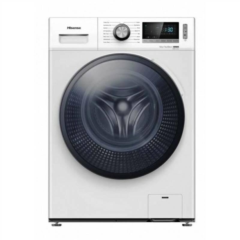 Pračka se sušičkou Hisense WDBL1014V bílá barva