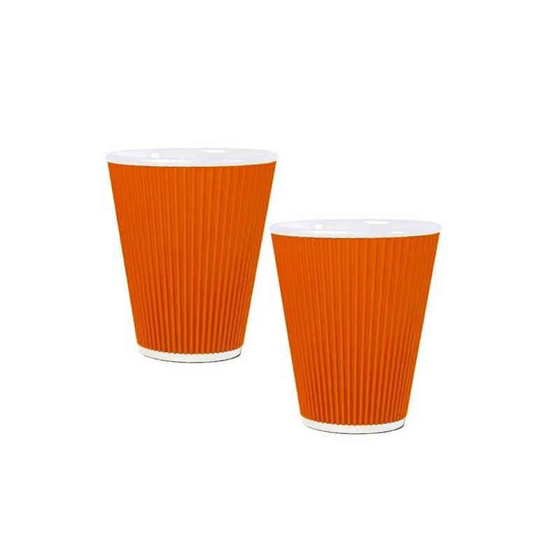 Sada hrnčekov LES ARTISTES Orange 100 ml (A-0630) oranžová farba