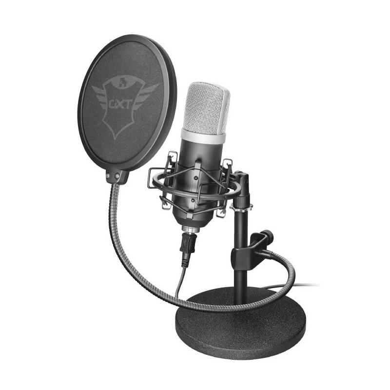 Mikrofón Trust GXT 252 Emita (21753) čierny + Doprava zadarmo
