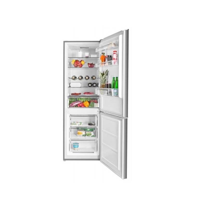 Kombinácia chladničky s mrazničkou ETA 138590010 nerez + Doprava zadarmo
