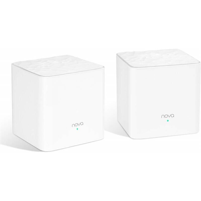 Router Tenda Nova MW3 AC Mesh (2-pack) biely + Extra zľava 3 % | kód 3HOR2020