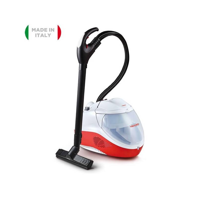 Parný vysávač Polti VAPORETTO LECOASPIRA FAV50 MULTIFLOOR biely/červený + Doprava zadarmo
