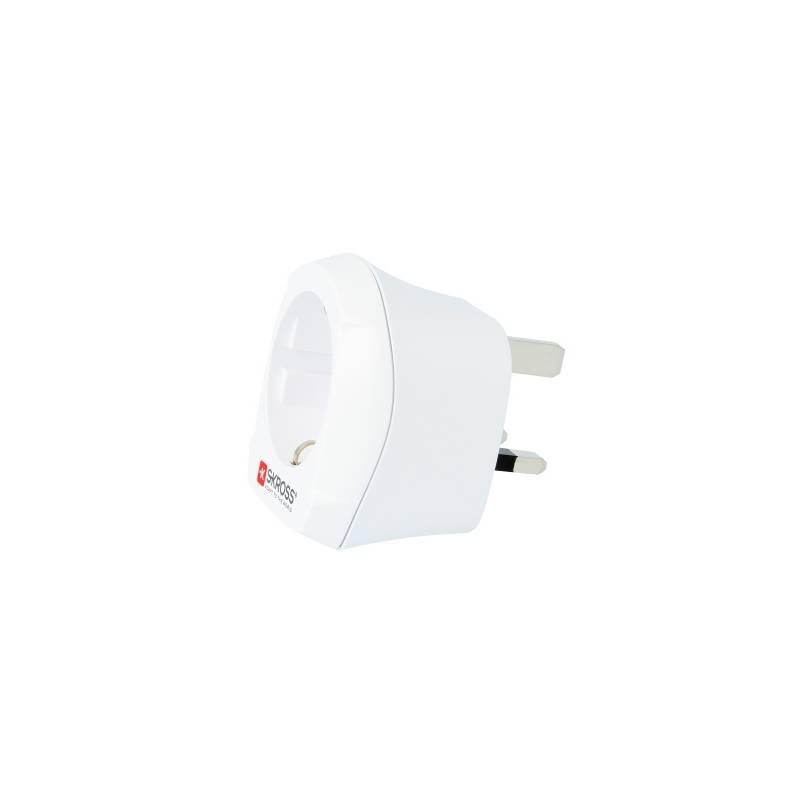 Cestovní adaptér SKROSS pro použití v UK (PA28) bílý