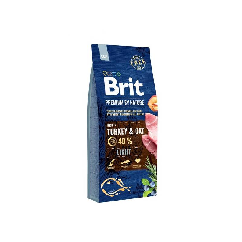 Granule Brit Premium Dog by Nature Light 15 kg