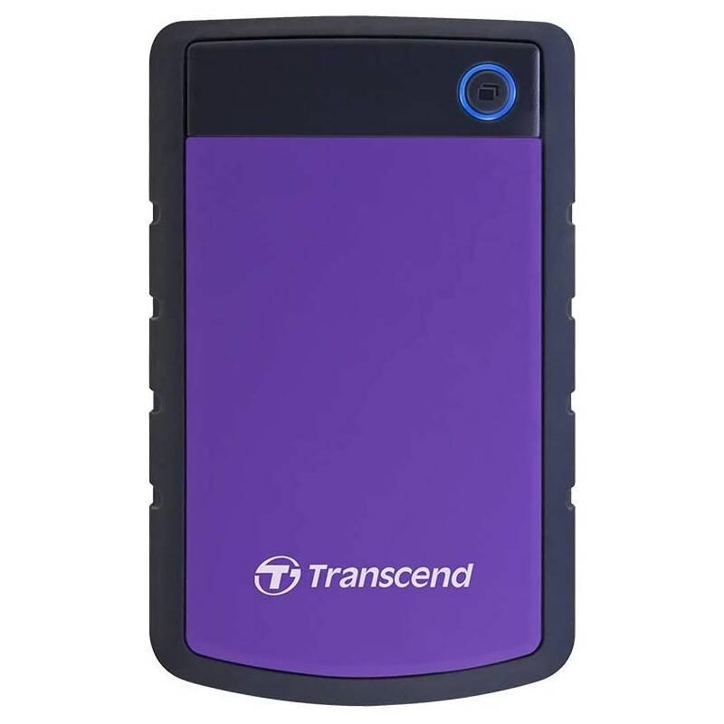 Externý pevný disk Transcend StoreJet 25H3P 2TB, USB 3.0 (3.1 Gen 1) (TS2TSJ25H3P) čierny/fialový