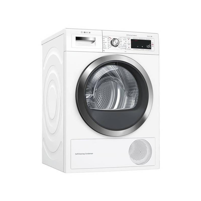 Sušička prádla Bosch WTW855H0BY bílá