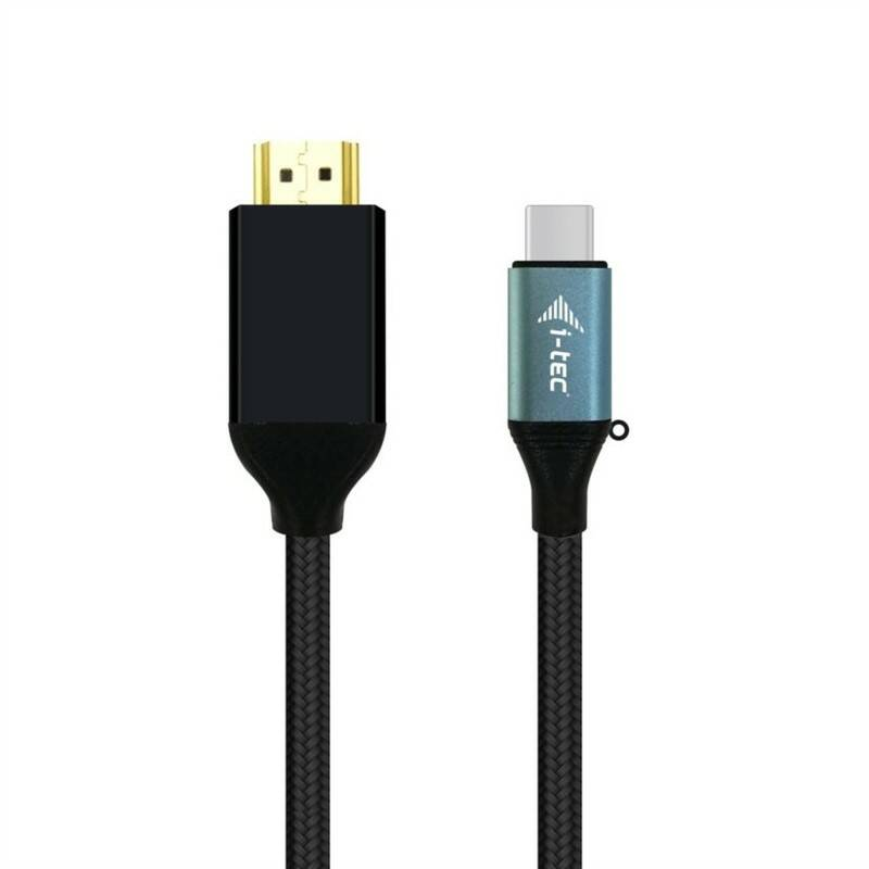 Kabel i-tec USB-C/HDMI, 1,5m (C31CBLHDMI60HZ) černý
