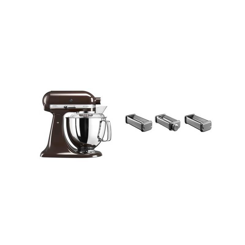 Set KitchenAid - kuchyňský robot 5KSM175PSEES + KPRA strojek na těstoviny + Doprava zadarmo