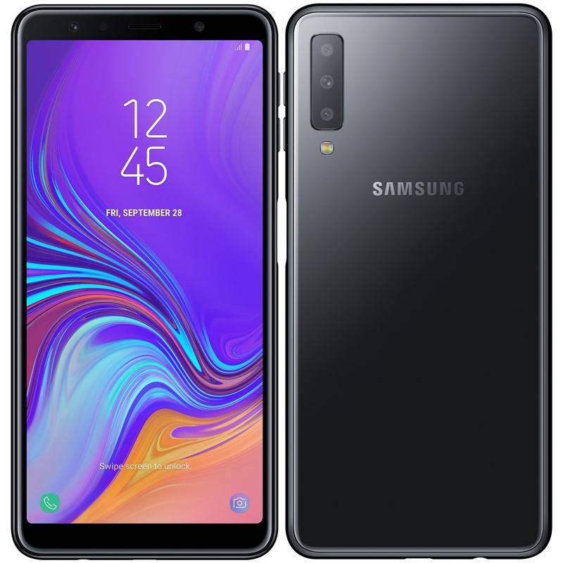 Mobilný telefón Samsung Galaxy A7 (SM-A750FZKUXEZ) čierny + Doprava zadarmo