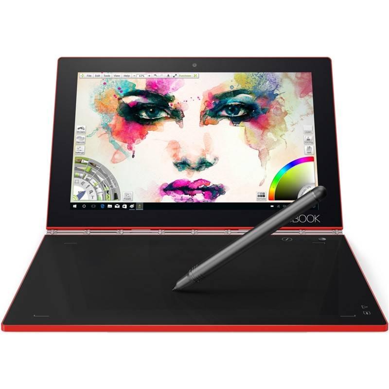Dotykový tablet Lenovo YOGA Book (ZA150259CZ) červený
