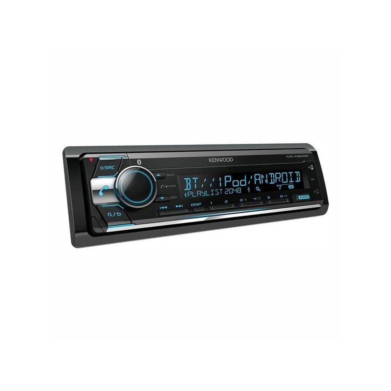 Autorádio s CD KENWOOD KDC-X5200BT (KDC-X5200BT) čierne/strieborné + Doprava zadarmo