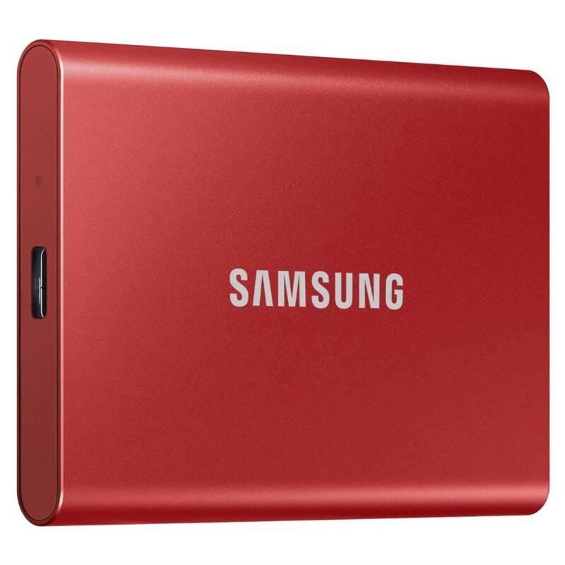 SSD externý Samsung T7 1TB (MU-PC1T0R/WW) červený