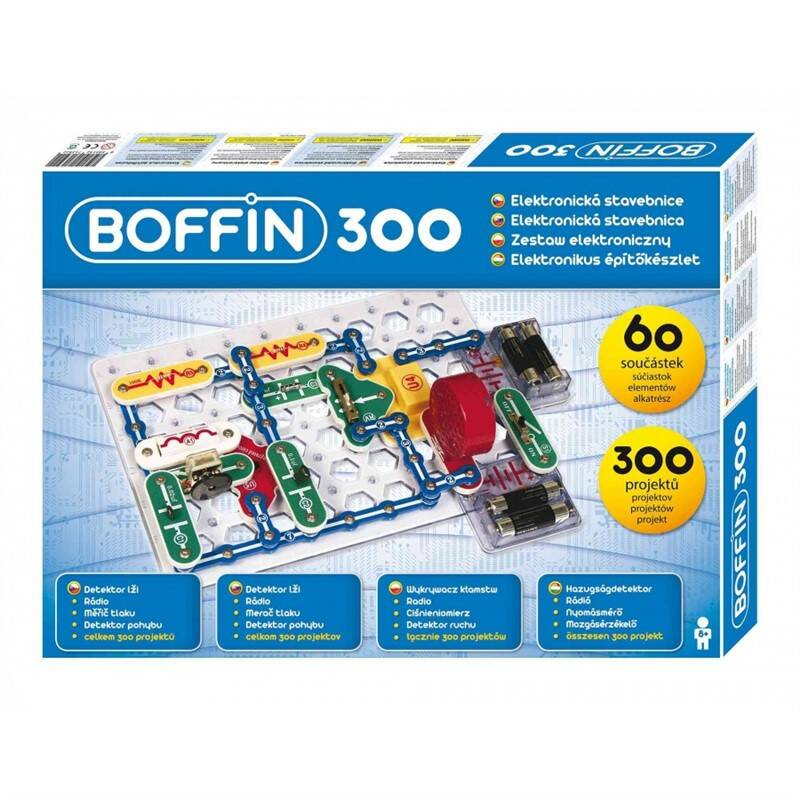 El. stavebnica Boffin I 300