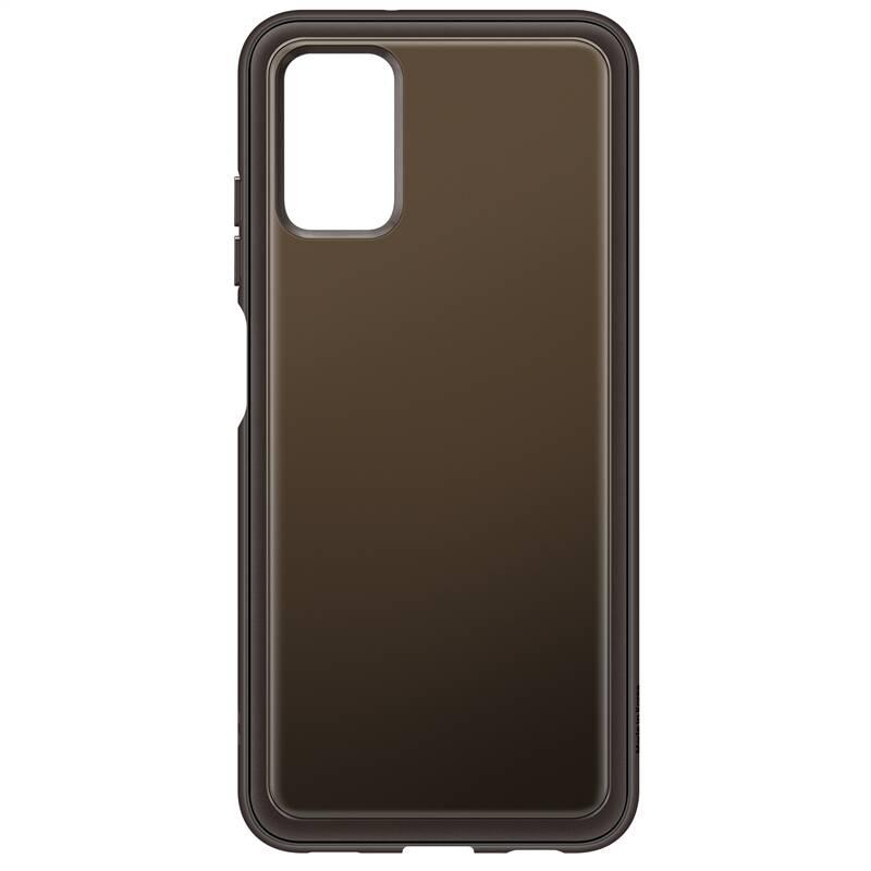 Kryt na mobil Samsung Galaxy A03s (EF-QA038TBEGEU) čierny/priehľadný