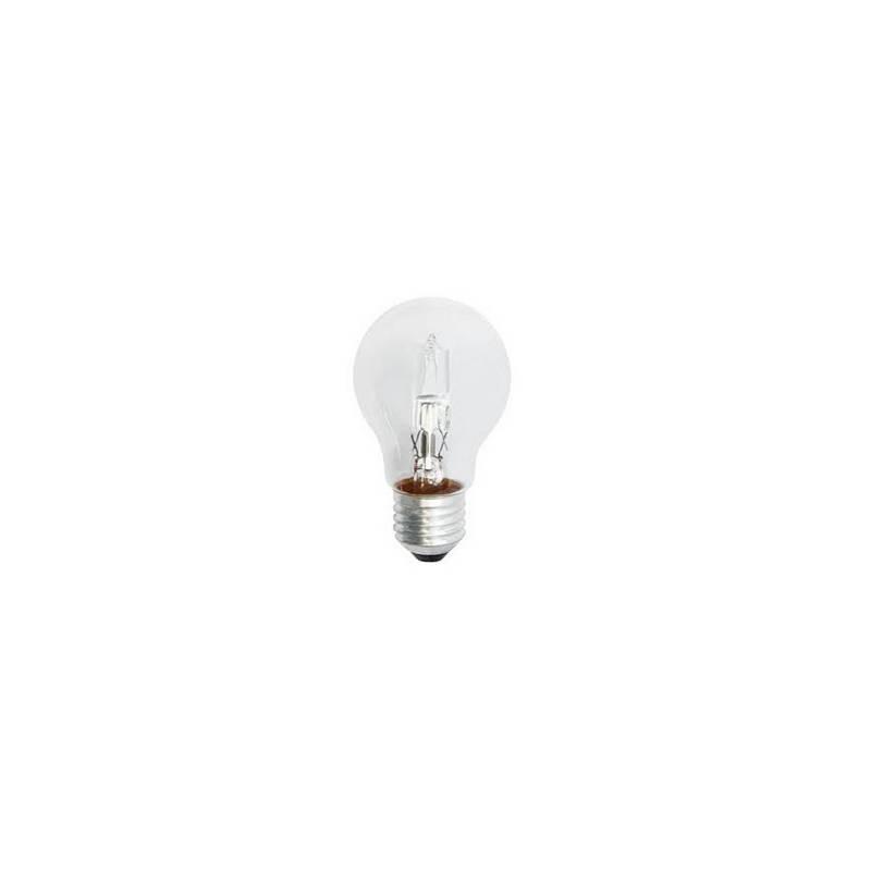Halogénová žiarovka EMOS klasik, 42W, E27, teplá bílá (ECCL42-A55E27)