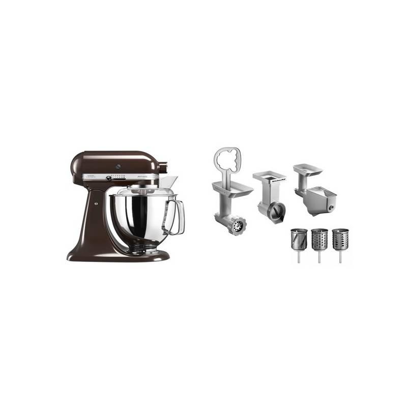 Set KitchenAid - kuchyňský robot 5KSM175PSEES + FPPC balíček s příslušenstvím + Doprava zadarmo