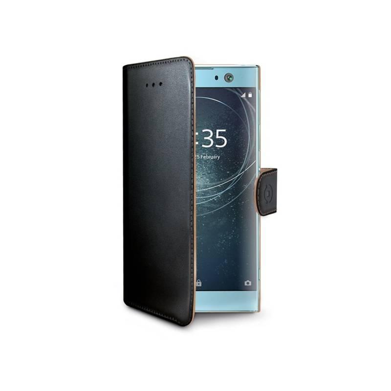 Puzdro na mobil flipové Celly Wally pro Sony Xperia XA2 (WALLY712) čierne