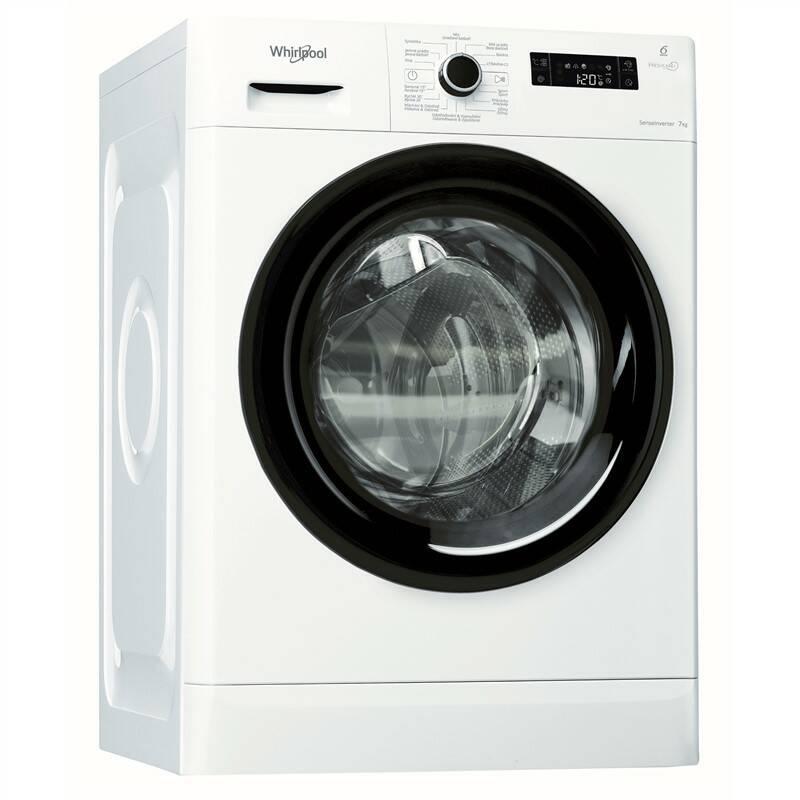 Automatická pračka Whirlpool FreshCare+ FRESHCARE+ FWF71483B CS bílá + Whirlpool 10 let záruka na motor SILENT MOTION