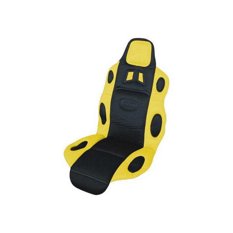 Poťah sedadiel Compass RACE černo-žlutý