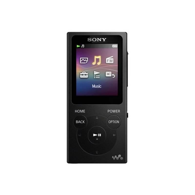 MP3 prehrávač Sony NWE393B čierny