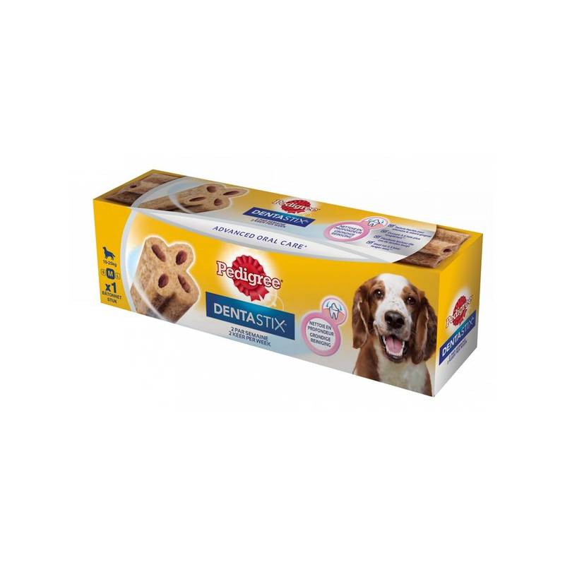 Pochúťka Pedigree Denta TWICE Weekly Medium 80g