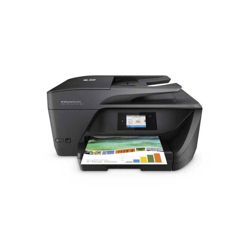 Tlačiareň multifunkčná HP Officejet Pro 6960 (J7K33A#625) čierna
