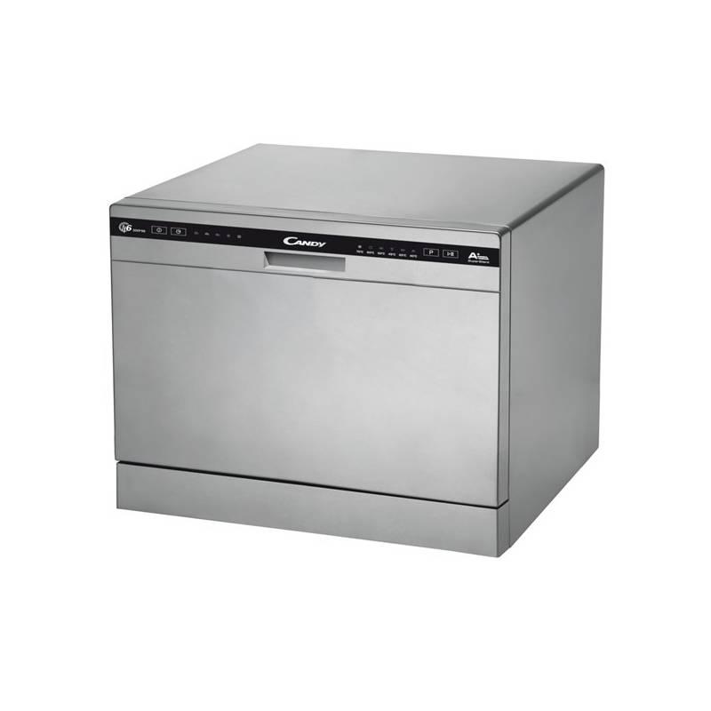 Umývačka riadu Candy CDCP 6/E-S strieborná