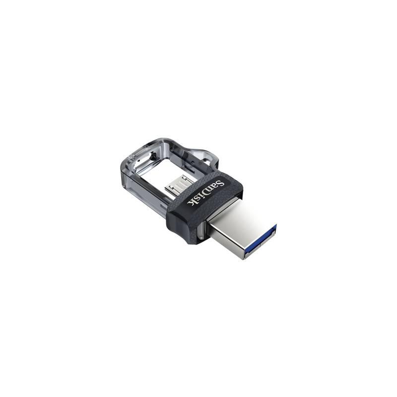 USB flash disk Sandisk Ultra Dual m3.0 32GB OTG MicroUSB/USB 3.0 (SDDD3-032G-G46) čierny + Extra zľava 10 % | kód 10HOR2020