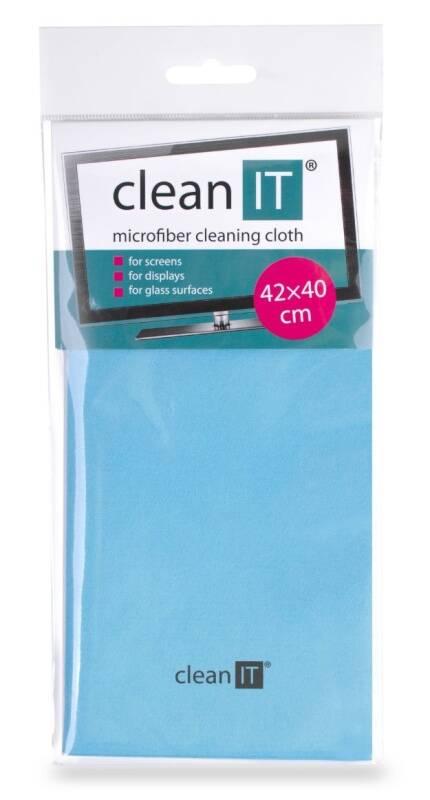 Utěrka Clean IT z mikrovlákna, velká světle modrá (CL-700)