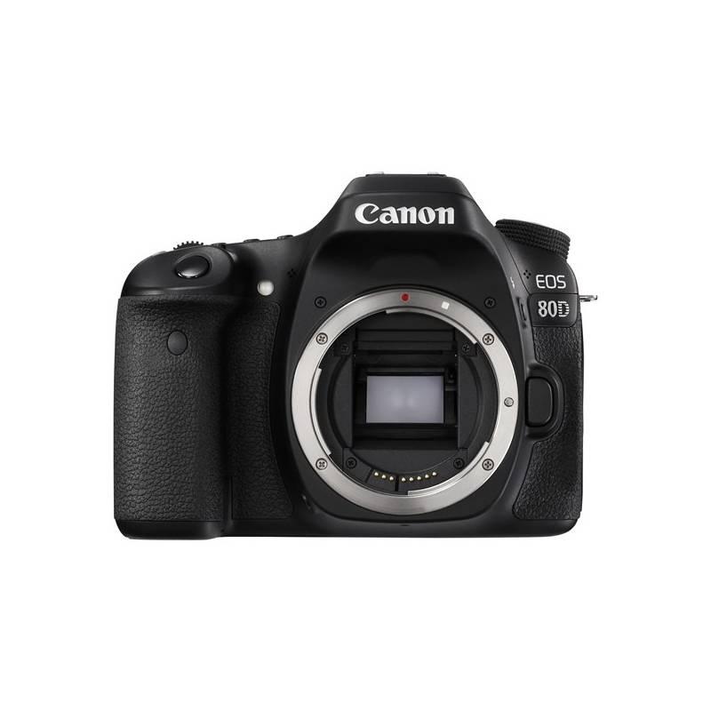 Digitálny fotoaparát Canon EOS 80D tělo (1263C032) čierny + Doprava zadarmo