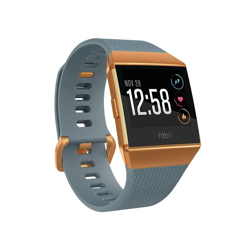 Chytré hodinky Fitbit Ionic - Slate-Blue, Burnt Orange (FB503CPBU-EU)