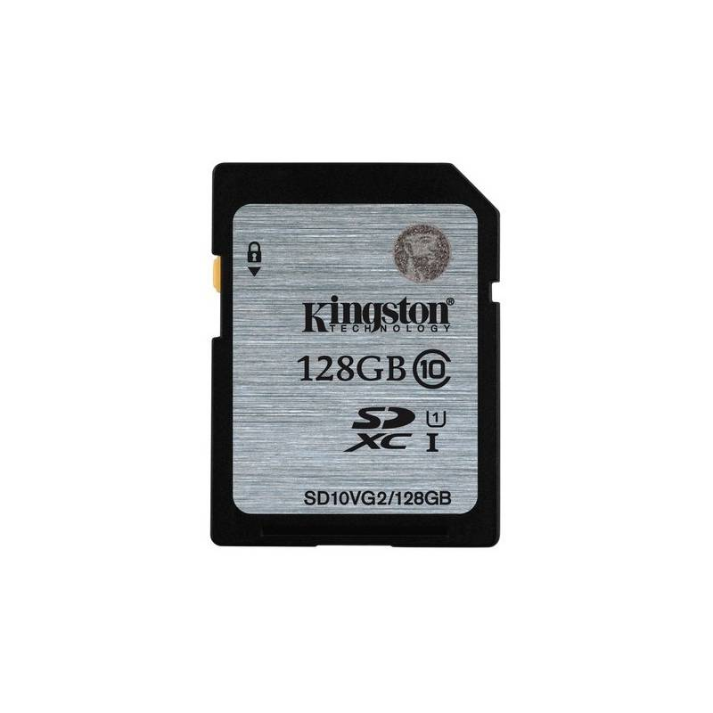 Pamäťová karta Kingston SDXC 128GB UHS-I U1 (45R/10W) (SD10VG2/128GB)
