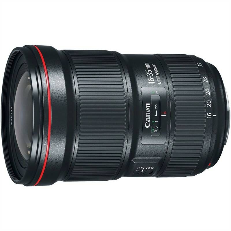 Objektiv Canon EF 16-35mm f/2.8 L III USM - SELEKCE AIP1 (0573C005) černý