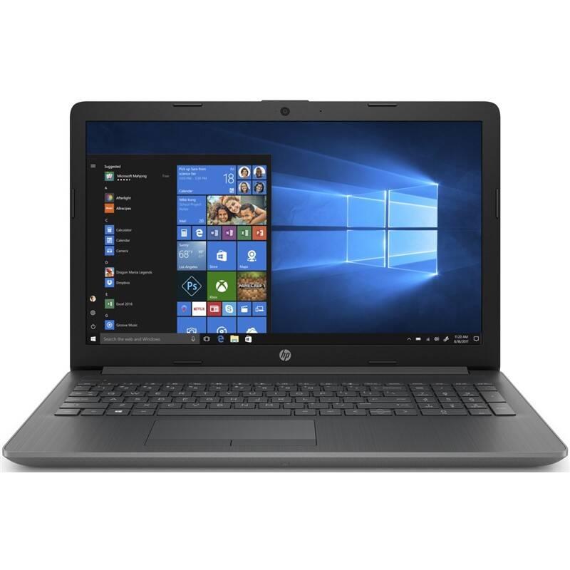 Notebook HP 15-da1600nc (8NE94EA#BCM) šedý