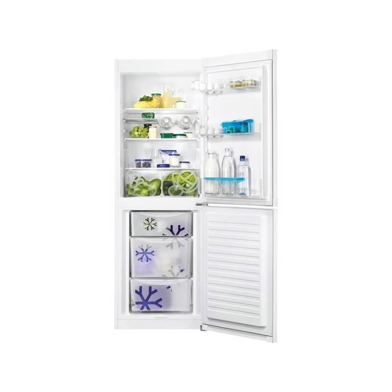 Kombinácia chladničky s mrazničkou Zanussi ZRB33103WA biela