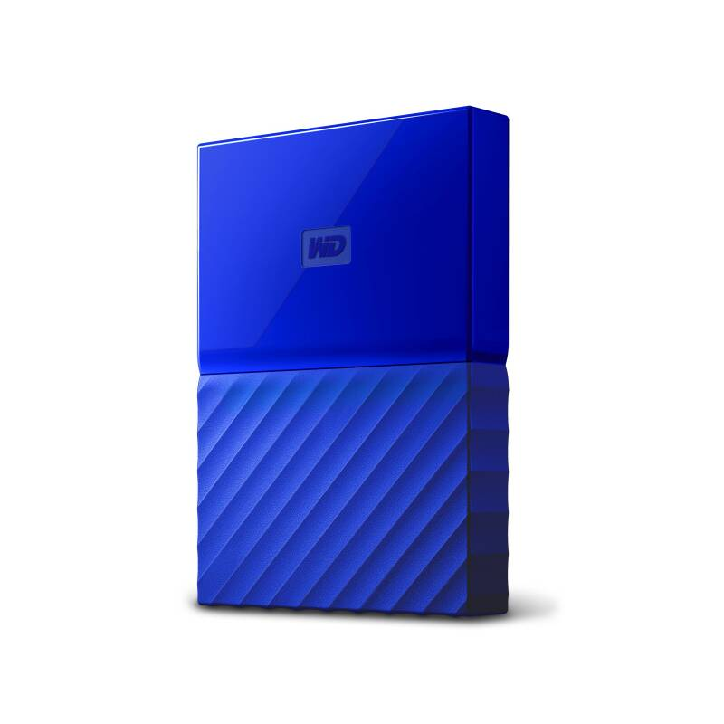 "Externí pevný disk 2,5"" Western Digital My Passport 1TB (WDBYNN0010BBL-WESN) modrý"