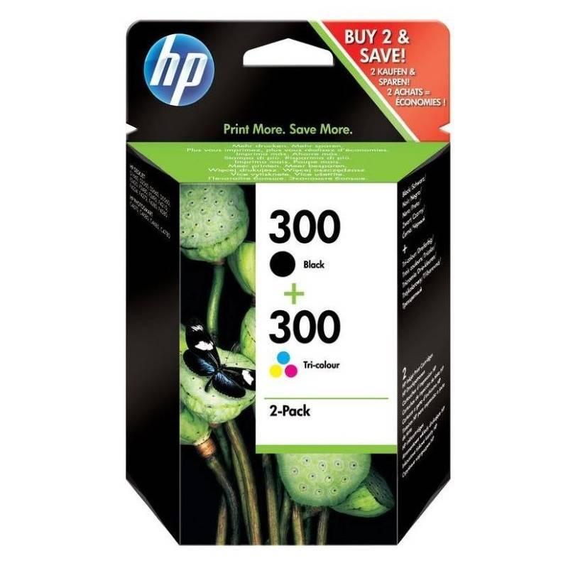 Cartridge HP No. 300 , 165/200 stran, CMYK (CN637EE)
