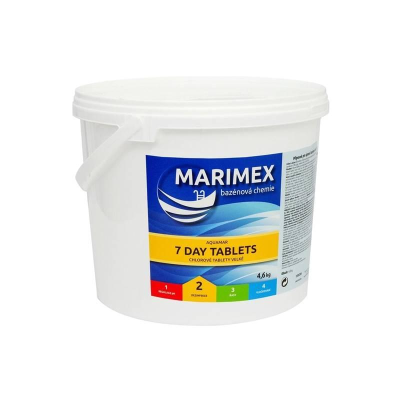 Bazénová chémia Marimex 7D Tabs_7 Denní tablety 4,6 kg + Doprava zadarmo