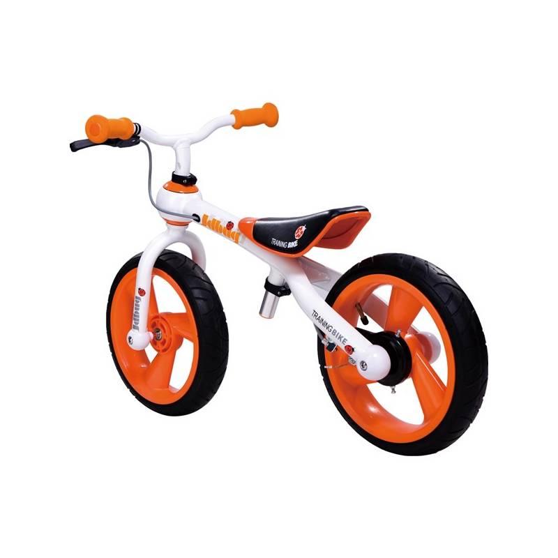 Odrážadlo Jd Bug Training Bike oranžové + Reflexní sada 2 SportTeam (pásek, přívěsek, samolepky) - zelené v hodnote 2.80 €