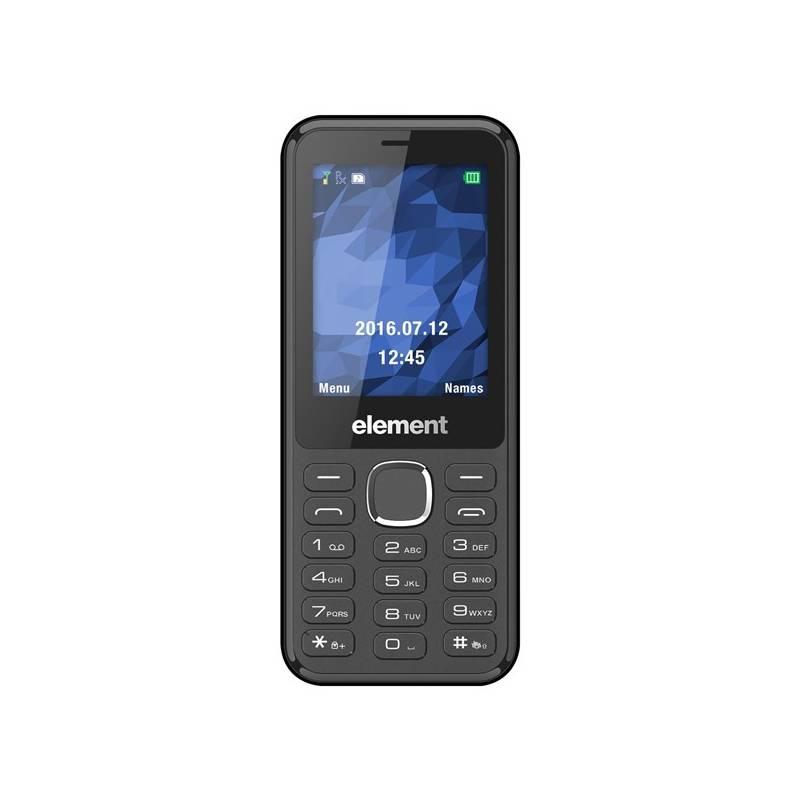 Mobilný telefón Sencor Element P004 (30014624) čierny + Doprava zadarmo