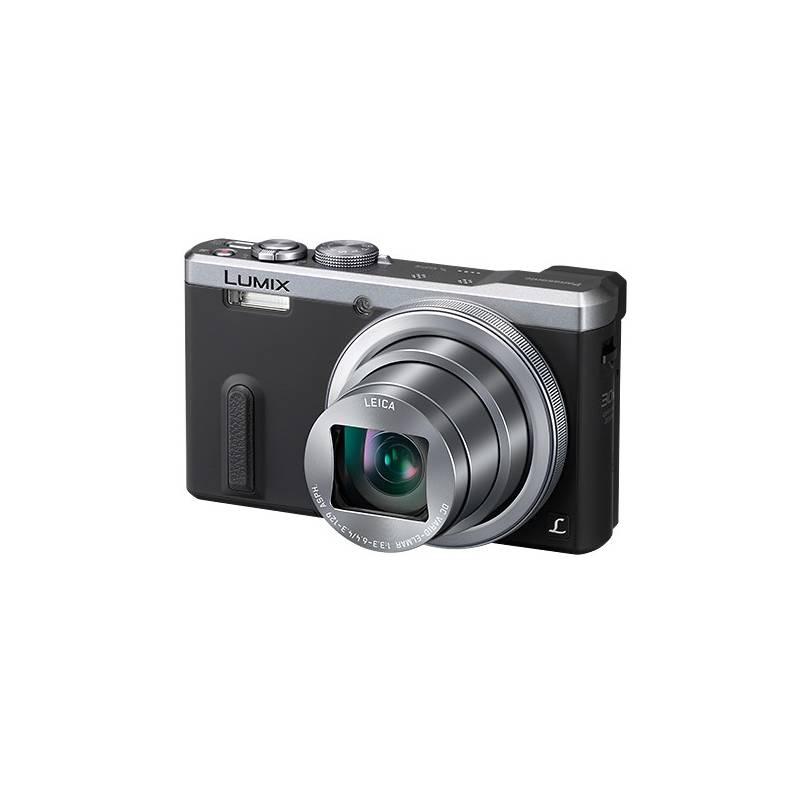 Digitálny fotoaparát Panasonic DMC-TZ60EP-S strieborný