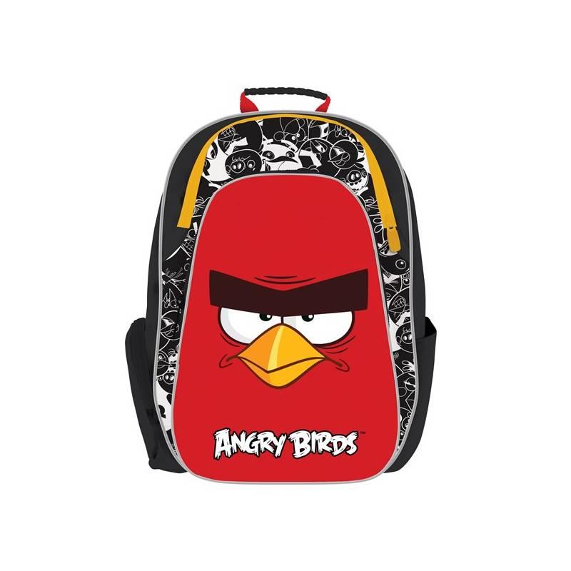 Batoh školský P + P Karton anatomický Angry Birds
