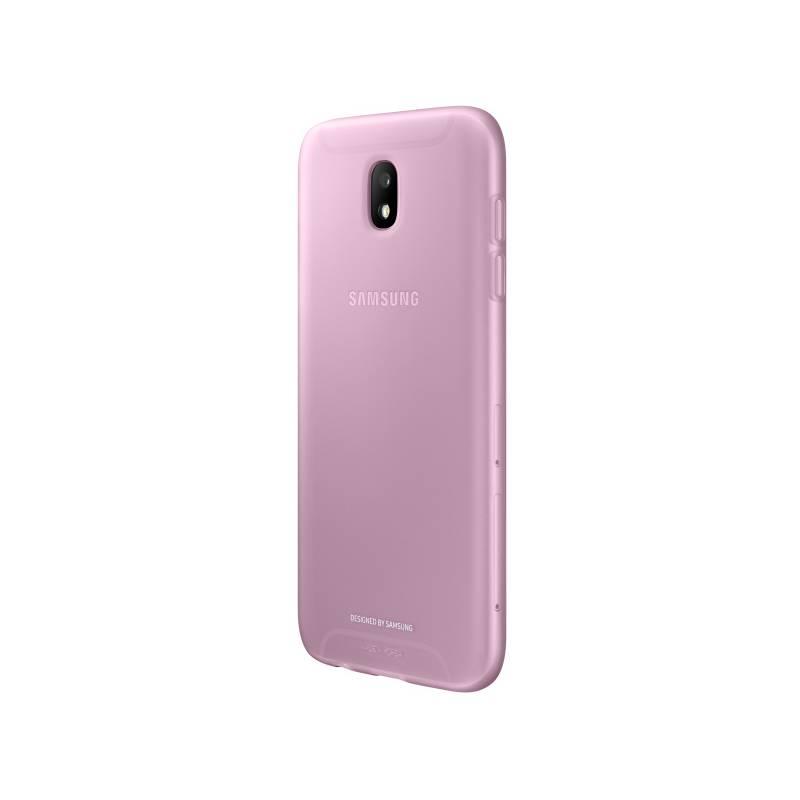 Kryt na mobil Samsung Jelly Cover pro J3 (2017) (EF-AJ330TPEGWW) ružový