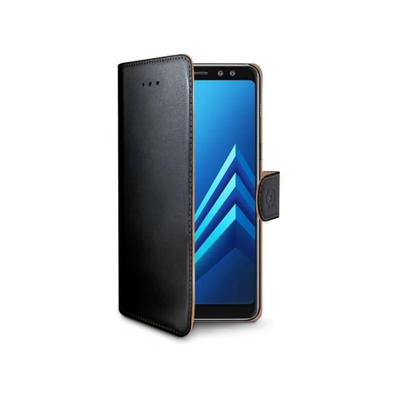 Puzdro na mobil flipové Celly Wally pro Samsung Galaxy S9 (WALLY790) čierne