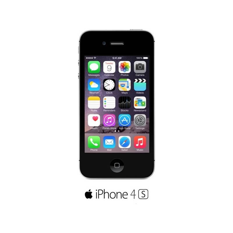Mobilný telefón Apple iPhone 4S 16GB (MD235CS A) čierny  15eca259905