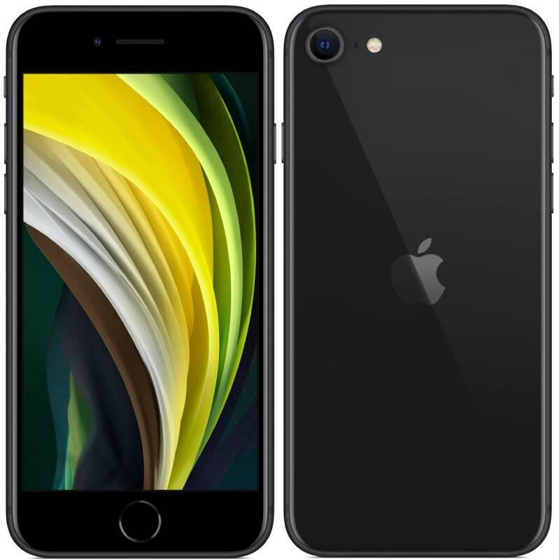 Mobilný telefón Apple iPhone SE (2020) 128 GB - Black (MHGT3CN/A) + Doprava zadarmo
