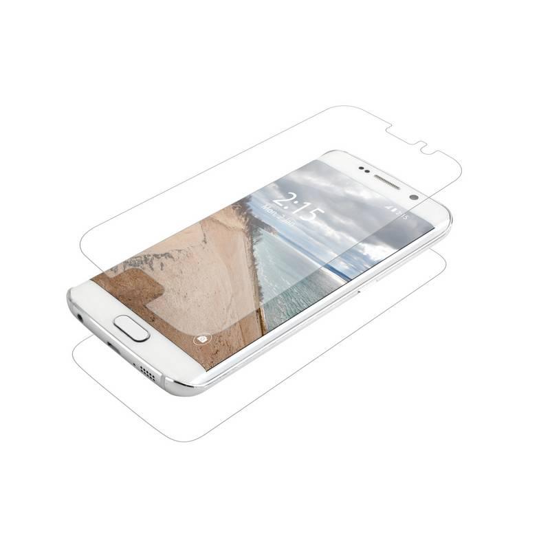 Ochranná fólia InvisibleSHIELD HD pro Samsung Galaxy S6 Edge - celé tělo (ZGG6EHWF-F00) priehľadná